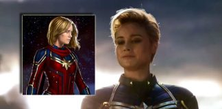 Avengers: Endgame: Concept Art Shows Captain Marvel's Suit With Sash Like Marvel Mentions In Its Comics!