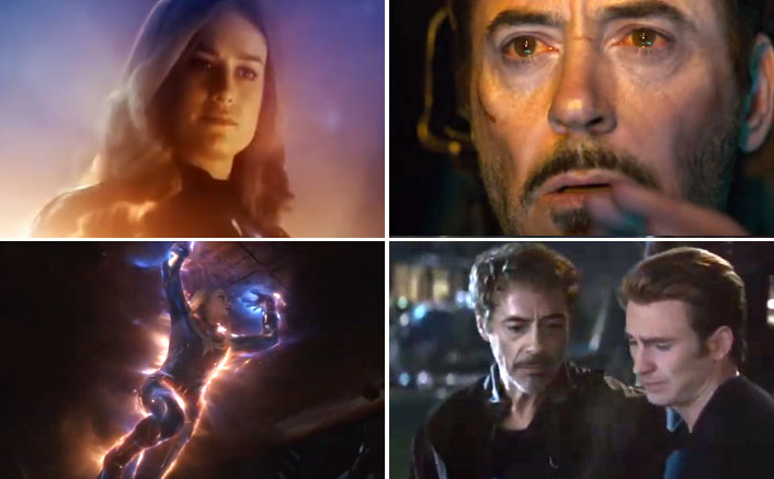 Avengers: Endgame Trivia #19: THIS Is How The Scene Of Captain Marvel Saving Iron Man From Space Was Initially Planned!