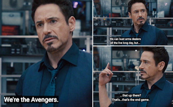 Avengers: Endgame Trivia #33: Not Doctor Strange, But Iron Man Was The First To Give Away The Film's Title In THIS MCU Superhit!