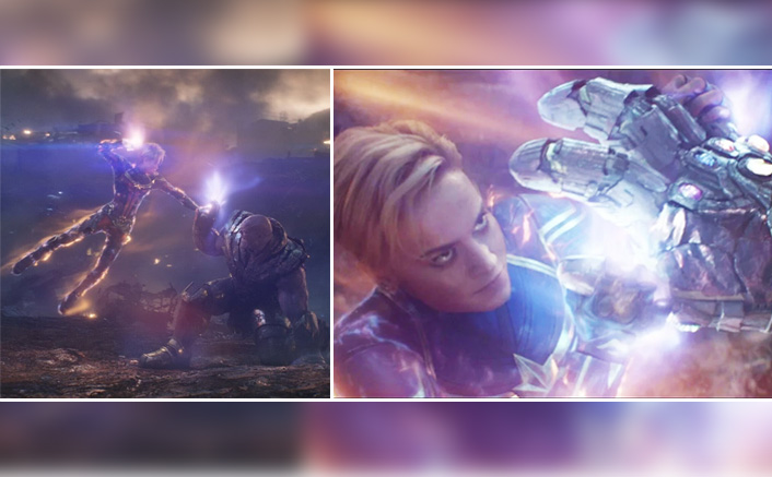 Avengers: Endgame: Wondering How Captain Marvel Manages To Fight Off The Mighty Villain Thanos? Read On!