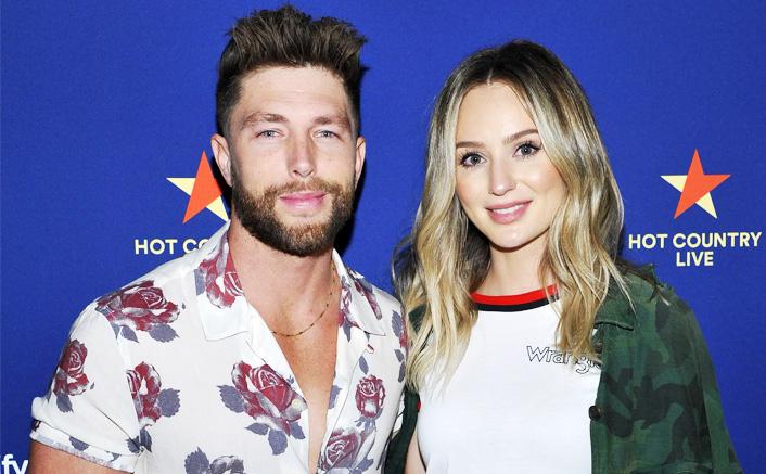 'Bachelor' Star Lauren Bushnell & Husband Chris Lane Couldn't Go For Their Honeymoon But Are Spending Time In Their Nashville Home