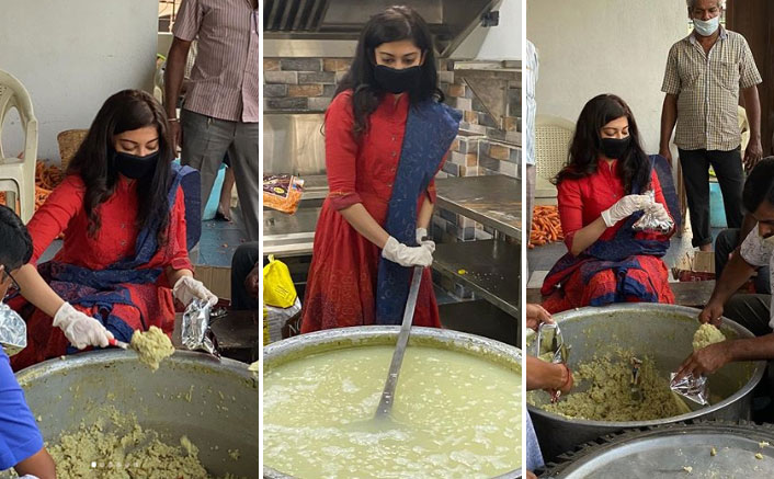 Bhuj: The Pride Of India Actress Pranitha Subash Delivers Self-Cooked Meals For Those In Need Amid Global Pandemic