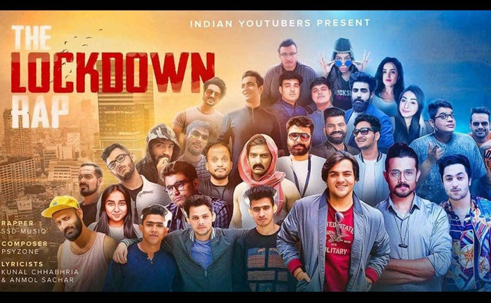 Bhuvan Bam, Ashish Chanchlani, Prajakta Koli & Other YouTubers Come Together For 'The Lockdown Rap'