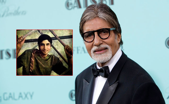 Amitabh Bachchan's Throwback Picture Of His First Ever Film Magazine Photoshoot Will Make You Go Wow!