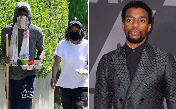 Black Panther Chadwick Boseman Scares Fans As He S Spotted Walking With A Stick Post Donning Dramatic