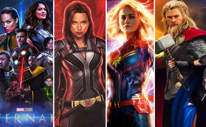 CONFIRMED! Marvel Reveals Black Widow, Captain Marvel 2 & 5 Other Films' NEW Release Dates