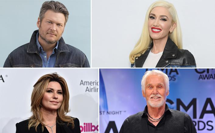 Blake Shelton, Gwen Stefani & Lady Antebellum Pay Tribute To Music Legend Kenny Rogers