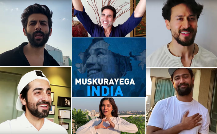 Muskurayega India Video OUT! Akshay Kumar, Kartik Aaryan & Many Celebs 'Shoot From Home' To Bring This Anthem Of Hope Together