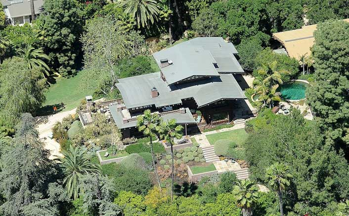 Brad Pitt's House (Picture Courtesy: Daily Mail)
