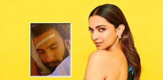 Deepika Padukone's camera catches hubby Ranveer Singh in sleep mode