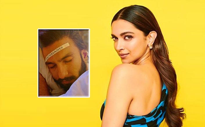 Deepika Padukone's camera catches hubby Ranveer Singh in sleep mode