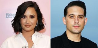 Demi Lovato Sparks Dating Rumours With Rapper G-Eazy As She Is Potted Leaving A NightClub With Him