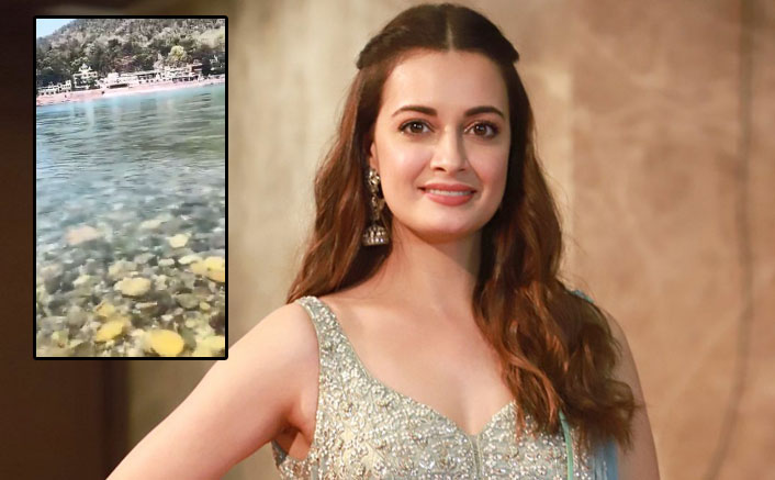 Dia Mirza Shares Breathtaking Pictures Of Clear Waters Of Ganga Amid Coronavirus Scare