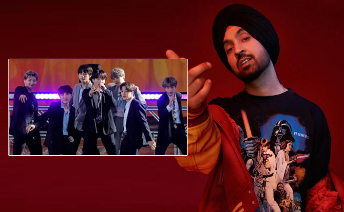 Diljit Dosanjh Reveals He Is A Fan Of South Korean Boy Band BTS