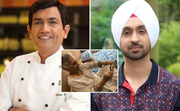 Diljit Dosanjh's Cookery Videos Have A Huge Fan In Celebrity Chef Sanjeev Kapoor's Mom, Actor & Khana Khazana Host's Chat Will Make Your Day