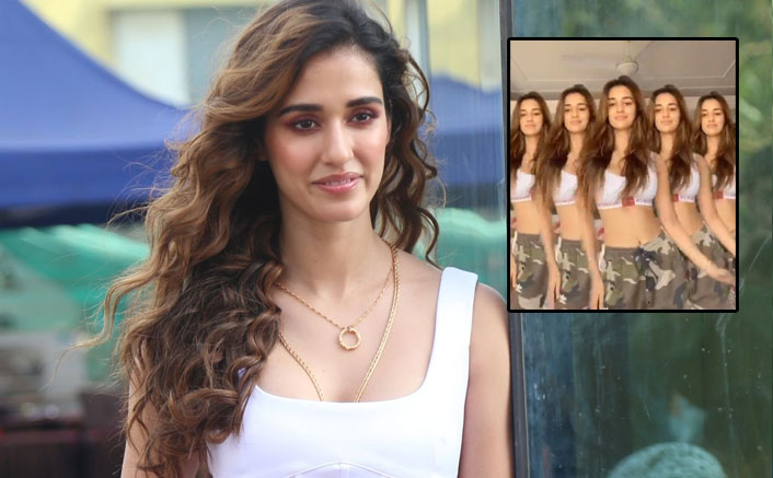 Disha Patani In Her White Sports Bra & Khakee Pants Does Beyonce & We Can't Stop Staring!