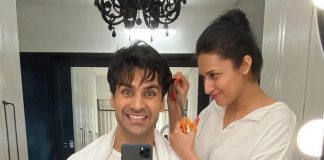Post Anushka Sharma-Virat Kholi, Now Divyanka Tripathi Showcases Her Styling Skills On Vivek Dahiya!