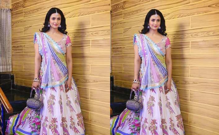 Divyanka Tripathi's Colourful Lehenga Could Be Your Apt Pick For First Wedding Function Post Lockdown!