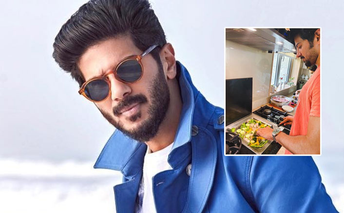 Dulquer Salmaan Tries His Hand In Cooking Amid Lockdown