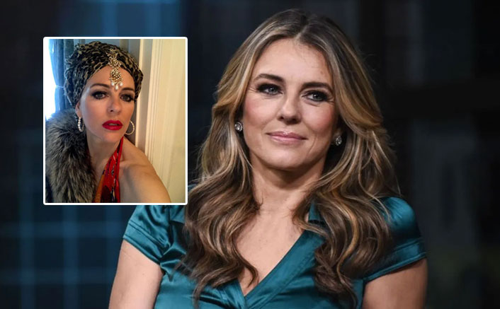 Elizabeth Hurley Films A Murder Mystery With Her Son While In Lockdown