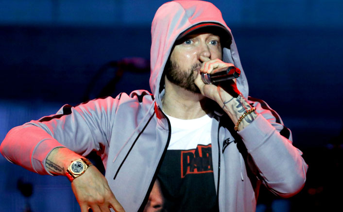 Eminem sends spaghetti meal pots to hospital workers