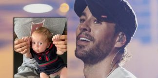 Enrique Iglesias' daddy-daughter dance with his two-month baby
