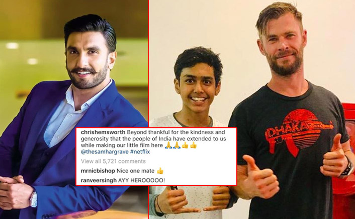 EXCLUSIVE! Extraction Actor Rudhraksh Jaiswal On Working With Chris Hemsworth & Thor Actor's Reaction To Ranveer Singh's Comment