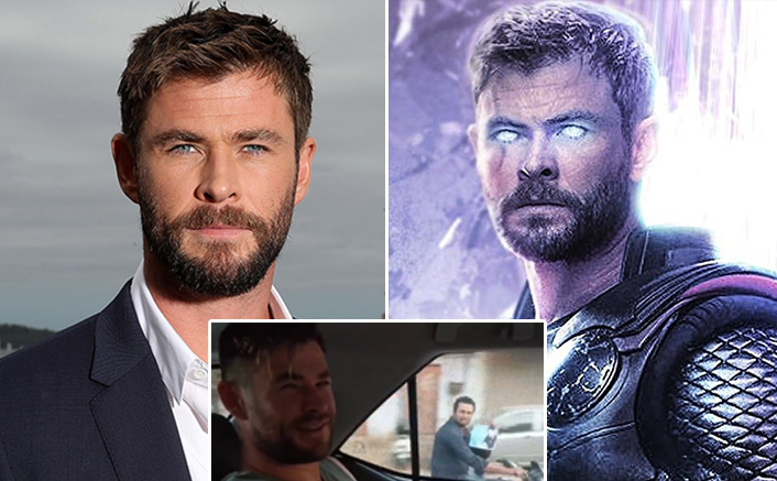 Fan Chases Avengers: Endgame Actor Chris Hemsworth AKA Thor On A Bike, Actor Hires Him As A Body Double, WATCH!
