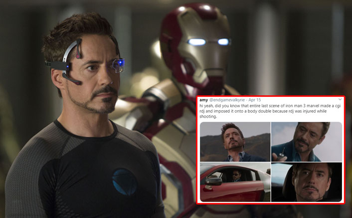 Feel Betrayed As Marvel Used Fake Robert Downey Jr Using CGI For THIS Scene In Iron Man 3!