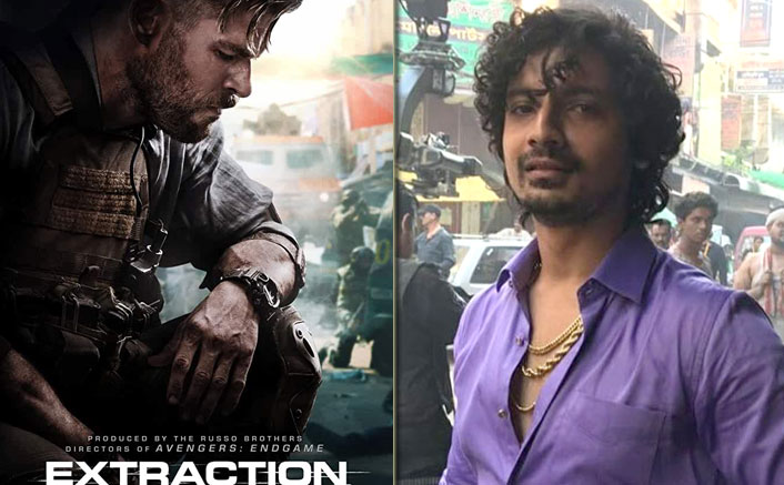 Priyanshu Painyuli's First Look From Chris Hemsworth's Extraction OUT & He's A Mysterious Mafia