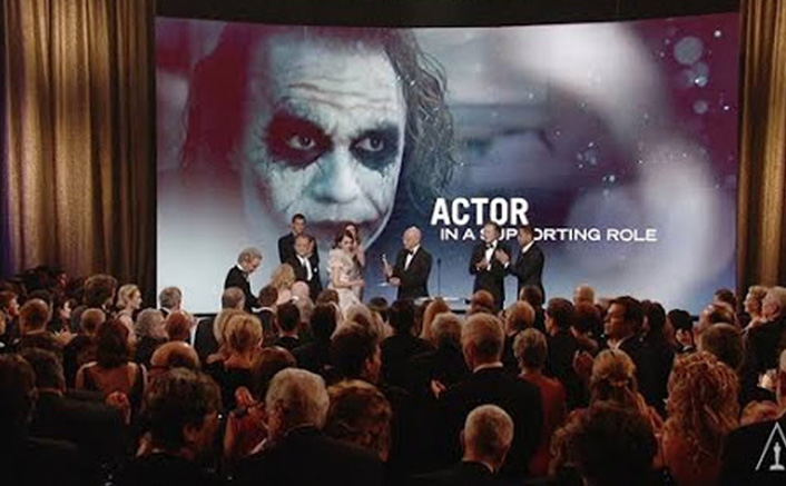 #FlashbackFriday VIDEO: When Heath Ledger's Name Was Announced During His Oscar Win, There Was NO Dry Eye In The Auditorium