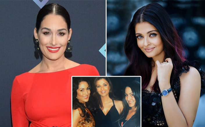 Former WWE Diva Nikki Bella Shares A Throwback Pic With Aishwarya Rai Bachchan & It's All About Love For India