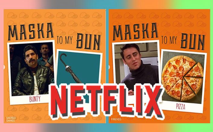 From Sacred Games' Bunty & His Chhatri To Friends' Joey & His Pizza, Netflix Has A Hilarious Take On Their Movies & Shows' Characters