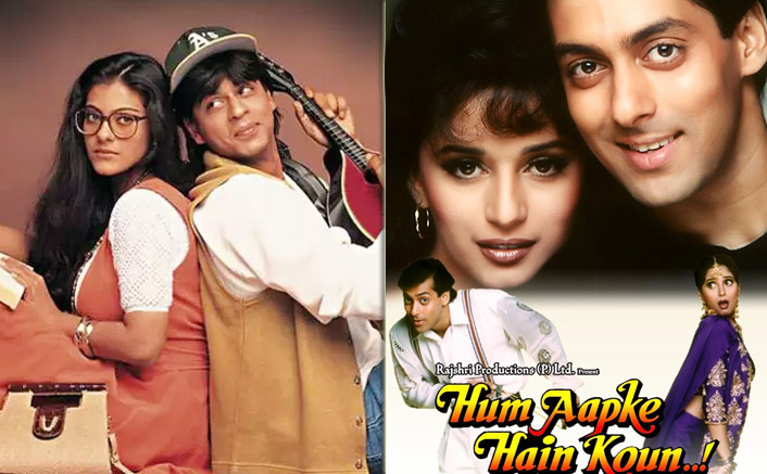 From Salman Khan & Madhuri Dixit's Hum Aapke Hain Koun To Shah Rukh Khan & Kajol's Dilwale Dulhania Le Jayenge - Top 10 Bollywood Box Office Grossers Of 1990-99 Decade