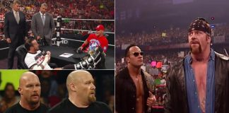 From The Rock Calling Out The Undertaker To CM PUNK & John Cena's Contract Signing - Take A Look At WWE's Entertaining Segments