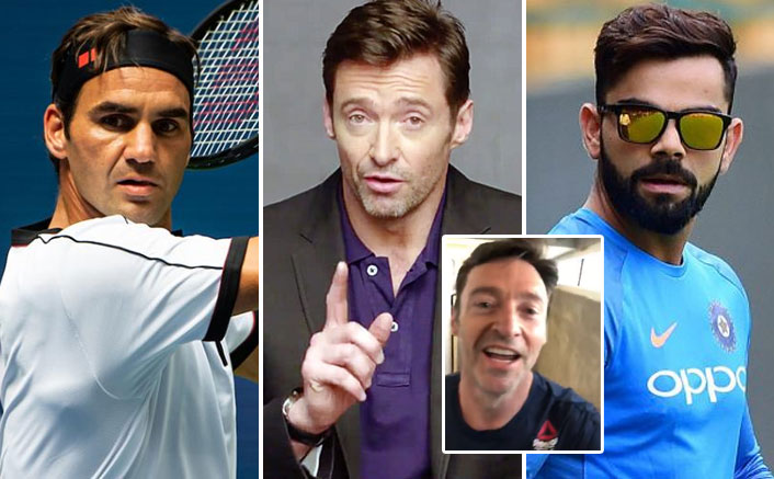 Hugh Jackman Climbs Up 15 Floors To Reply Roger Federer's Challenge; Virat Kohli Yet To Respond