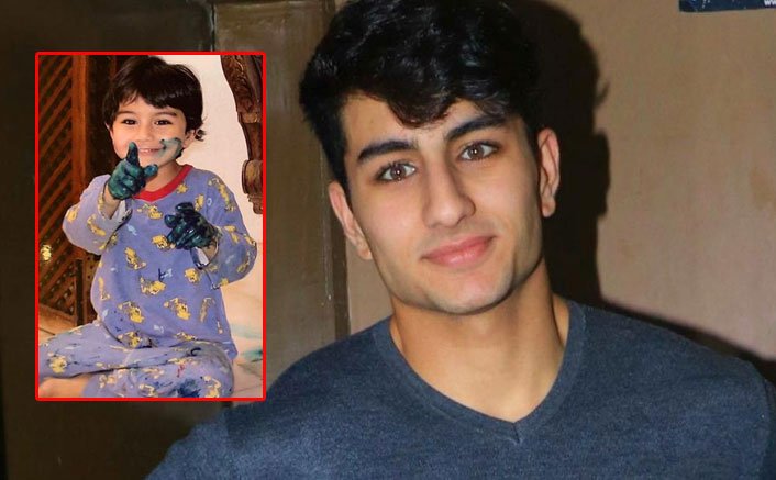 Ibrahim Ali Khan tags himself 'Picasso Jr' in throwback pic