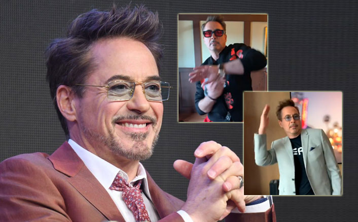 Learn IRON Dance Moves From Our Beloved Iron Man - Robert Downey Jr To Take Away Your Lockdown Blues!