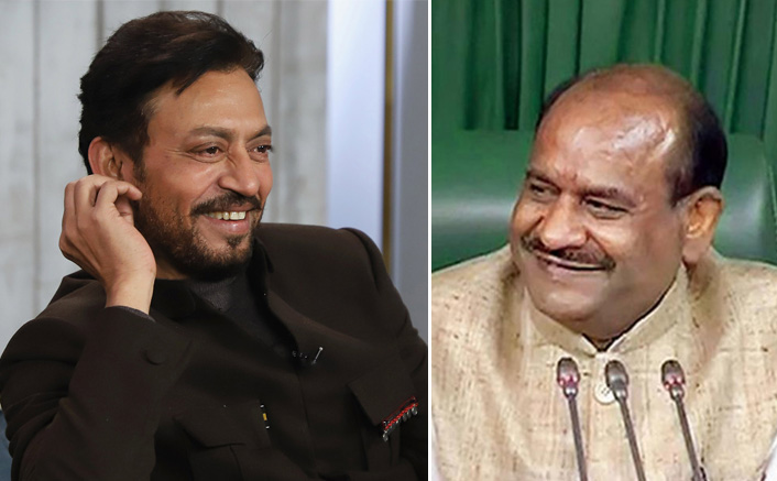 """""""Irrfan Khan Will Be Remembered For His Diverse Roles"""": Lok Sabha Speaker"""