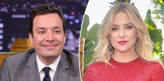 "Jimmy Fallon Meets His Old Crush Kate Hudson, Later Says ""If You Would Have Actually Made A Move, I Would Have Totally Gone There"""