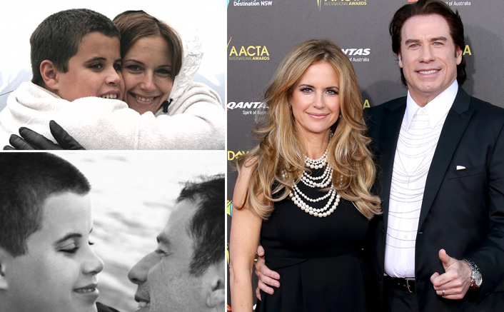 John Travolta & Wife Kelly Preston Pay Tribute To Their Late Son ...