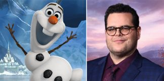 Josh Gad back as beloved snowman Olaf