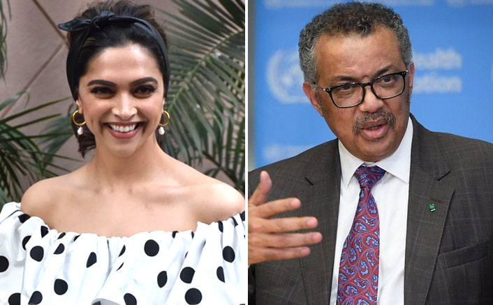 Following Backlash, Deepika Padukone's Live Chat With WHO Chief Dr Tedros Adhanom Ghebreyesus Put On Hold