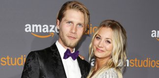 Kaley Cuoco says lockdown forced her to move in with husband