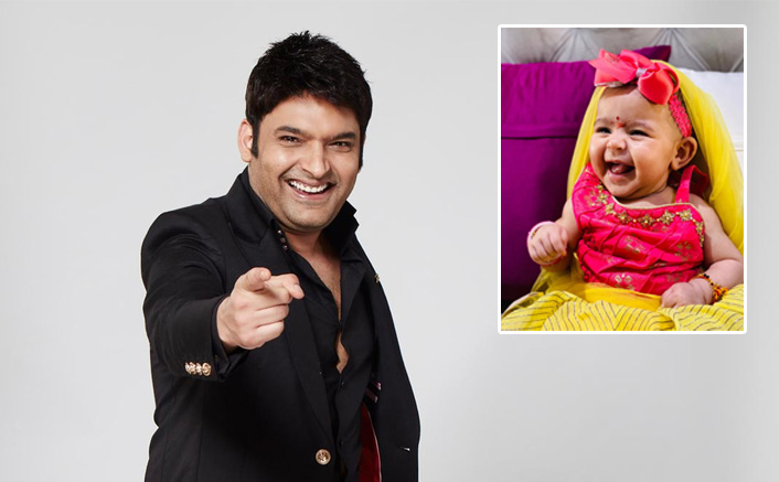 Kapil Sharma Dolls Up Daughter Anayra For Ashtami Puja & She Looks Cute As A Button