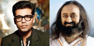Karan Johar To Have Interactive Live Series Heart To Heart With Spiritual Leader Sri Sri Ravi Shankar