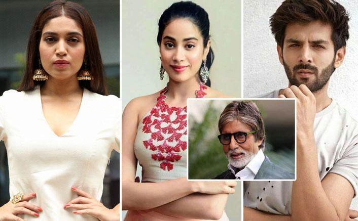 Kartik Aaryan, Bhumi Pednekar & Janhvi Kapoor In THIS Remake Of Amitabh Bachchan's Film? Here's Why We Say So!