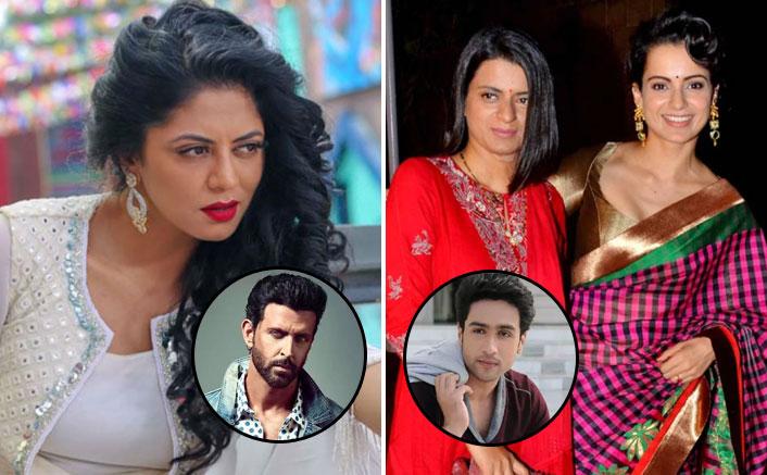 Kavita Kaushik Takes A Strong Dig At Kangana's Past Relationships; Empathises with Hritik Roshan & Adhyayan Suman