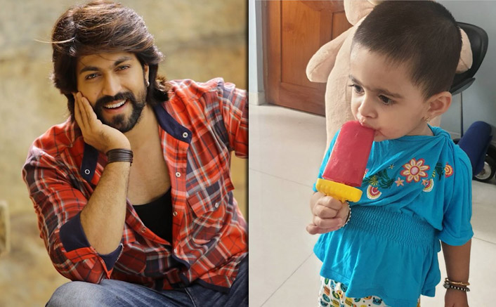 KGF 2 Star Yash's Daughter Ayra Beats Summer Heat With Home-Made Watermelon Ice Candy