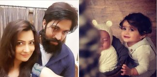 KGF Star Yash, Wife Radhika Pandit Introduce Their Son To The World With An Adorable Picture